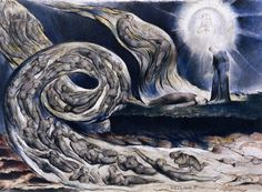 """The Lovers' Whirlwind"", William Blake"