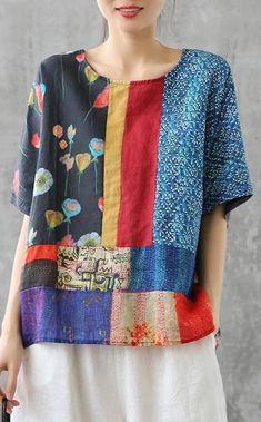 Fashion Sewing, Diy Fashion, Sewing Clothes, Diy Clothes, Clothing Patterns, Dress Patterns, Sewing Patterns, Ropa Shabby Chic, Linen Tshirts