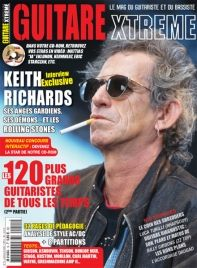 Guitare Xtreme 15 : Keith Richards – The Rolling Stones  Eric Sauviat