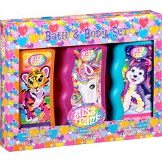 Lisa Frank Bath & Body Set, 3 pc