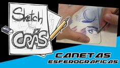Desenhando com Esferográficas - Sketch Crás