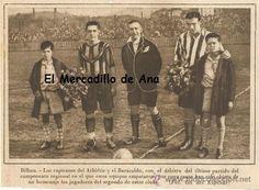 BILBAO PARTIDO ENTRE EL ATHLETIC Y EL BARACALDO RECORTE PRENSA AÑOS TREINTA