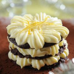 Mille-feuilles croustillants chocolat citron