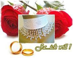 """Brautschmuck - """"Pearls"""" Halsband 1-455 - ein Designerstück von ikimmis-passion bei DaWanda"""