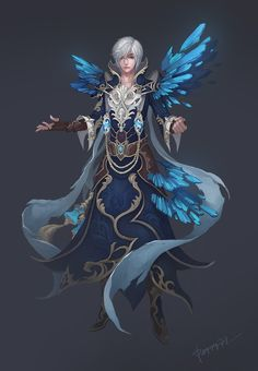 Ice Mage by ~peggy77 on deviantART