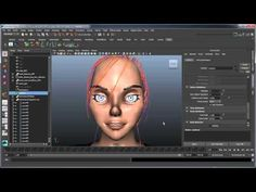 Creating XGen hair - Part 5: Animating XGen hair using Anim Wires and nDynamics - YouTube