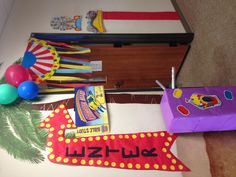 must make the enter sign Vbs Themes, Carnival Themes, Circus Theme Classroom, Classroom Decor, Church Activities, Summer Activities, Preschool Crafts, Crafts For Kids, Fall Carnival