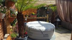 Lay-Z-Spa is the UK's leading inflatable hot tub brand. Portable, durable and great value for money the Lay-Z-Spa range accommodates people. Spa Uk, Hot Tub Surround, Spa Center, Centre Pieces, Garden Spaces, Outdoor Furniture, Outdoor Decor, Pain Relief, Serenity