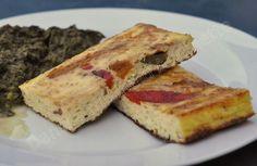 Omelette au four aux poivrons confits Gouda, Galette, French Toast, Breakfast, Desserts, Zumba, Tutus, Apple Cakes, Vegetarian Food