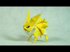 POKEMON - Origami Jolteon Tutorial (Henry Phạm)