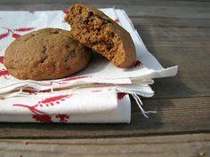 gluten-free spiced orange chocolate chunk cookies