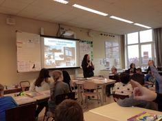 Voor de klas: les geven over de schadelijkheid van uitlaatgassen en de Rotterdamse haven Rotterdam