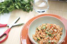 Rijst met kabeljauw en groenten