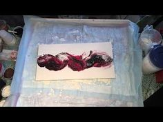 (048) Flip and Drag Acrylic Pouring Airbrush - YouTube