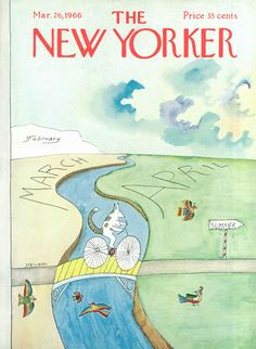 March 26, 1966 - Saul Steinberg