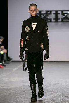A look from the KTZ Fall 2015 Menswear collection.