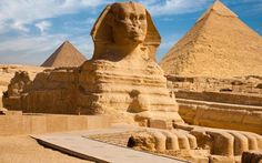 """15 days Egypt tour """"A Tour of A Lifetime"""" to explore the best of Egypt attractions in Cairo, Luxor, Aswan, Hurghada, and Alexandria joined by a tour guide. Giza Egypt, Pyramids Of Giza, Luxor, Le Sphinx, Cruise Holidays, Small Group Tours, Mysterious Places, Egypt Travel, Africa Travel"""