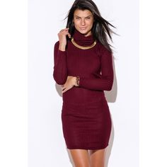 """Turtleneck Backless Mini Dress #502-L Every girl needs a backless sweater dress, and this is the perfect one to own. The strap across the back is not only a unique design but also hides your bra strap so you can have a flawless look. This classic turtleneck long sleeve sweater is curve hugging and stretchy for a perfect fit. Unlined. 73% Rayon, 27% Polyester. Made in USA. Model is 5'9"""", chest 32C, waist 25"""", hips 35"""" and she's wearing a small. Price is firm unless bundled. Dresses Mini"""