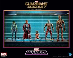 First Look At Guardians Of The Galaxy 6″ Action Figures