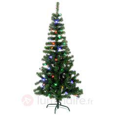 Sapin lumineux LED Alaska éclairage de couleur, référence 1523342- Décoration, DIY et lumière de Noël chezLuminaire.fr!