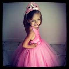 Pink Princess Royal Gown by HandmadebyCatira on Etsy