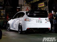 Subaru STI. Get rid of the sticker and throw some mud flaps on.