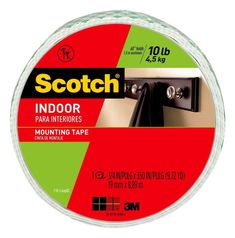 Scotch in. x yds. Permanent Double Sided Indoor Mounting Tape (Case of - The Home Depot Scotch in. x yds. Permanent Double Sided Indoor Mounting Tape (Case of White Hanging Paper Flowers, Easy Paper Flowers, Family Chore Charts, Scotch Tape, Electrical Tape, Giant Flowers, Painters Tape, Hold On, Home Improvement