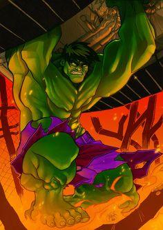 #Hulk #Fan #Art. (Incredible) By: Mijka. ÅWESOMENESS!!!™ ÅÅÅ+
