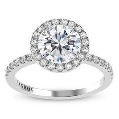 18KT White Gold Designer Ring
