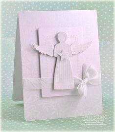 Рождественские открытки с ангелочком своими руками, днем