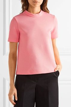 Marni - Open-back Crepe Top - Pink - IT42