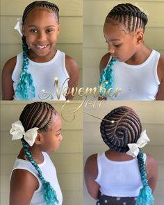 Children's Fishbone Braids! Booking Link In Bio! Children's Fishbone Braids! Booking Link In Bio! Cute Little Girl Hairstyles, Little Girl Braids, Girls Natural Hairstyles, Baby Girl Hairstyles, Kids Braided Hairstyles, Braids For Kids, Black Kids Hairstyles, Hairstyles 2018, Natural Hair Braids