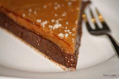 salted caramel chocolate tarte