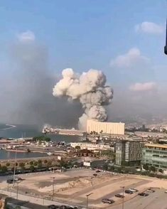 Beirut Explosion, Wow Video, Most Beautiful Cities, Beautiful Sunset, Natural Disasters, Amazing Nature, Best Funny Pictures, The Incredibles, Earth