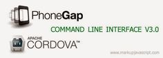 Markup Javascript: Cordova CLI (Command Line Interface) after v3.0