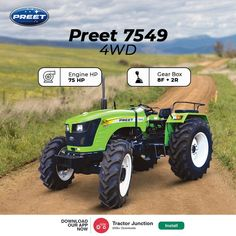 No. Of Cylinder 4 Engine HP 75 HP PTO HP 63.8 HP Gear Box 8 Forward + 2 Reverse Brakes Multi Disc Oil Immersed Brakes Tractor Price, New Holland Tractor, Tractors, Gears, Monster Trucks, Engineering, Technology, Oil, Tech