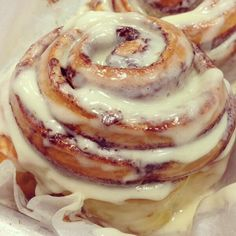 She told me in the morning she don't feel the same about her Cinnabons.