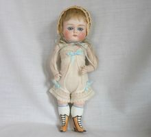 """Absolutely Fabulous German All Bisque """"Wrestler"""" Doll"""