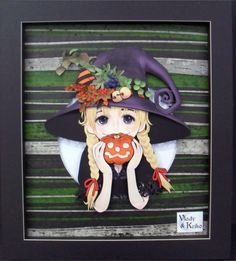Witch Flowers and Fruits - Paper Sculpture by Vlady and Helena Keiko - Exposição Witches in Paper
