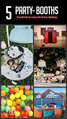 5 Party- Booths That Will Be An Instant Hit At Your Wedding