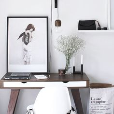 Work space goals #desk #art