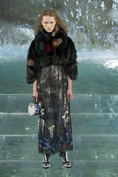Fendi Fashion Show Trevi Fountain Rome