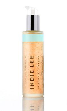 "Cleanser: Indie Lee Brightening Cleanser, $32, <a href=""http://indielee.com/shop/face/brightening-cleanser"">indielee.com</a>"
