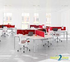 Herman Miller bureaustoel geïnspireerd door de principes van hangbruggen