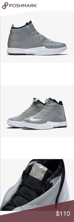 This Nike Zoom Flight The Glove inspired silhouette dons a full Metallic  Silver Jacquard textile upper that includes Black detailing ... fb3177a1022e