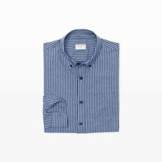 CLUB MONACO Slim Stripe Flannel Shirt. #clubmonaco #cloth #all