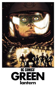 DC Comics today announced that the March 2015 variant cover theme will be based on iconic movie posters.  For the three Green Lantern books getting variant covers in March the posters take an expected slant towards classic science fiction films, namely Forbidden Planet, Westworld and 2001: A Space Odyssey.