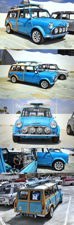 Mini Traveler Wagon - Caribbean blue ❤ App for MINI ★ Mini Cooper Warning Lights…