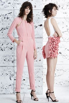 Pedro del Hierro Madrid Spring 2015 Ready-to-Wear - Collection - Gallery - Look 1 - Style.com
