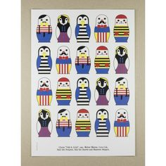 Plakat A3 Odd & Jolly - MagiaPolnocy.pl sklep w stylu skandynawskim. #muumuru